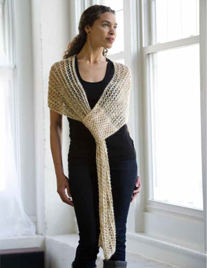 Smart Shawl Knitting Pattern