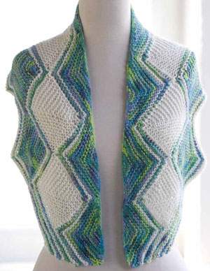 One + One Stepping Stones Shawl