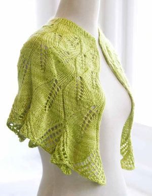 Lavish Cape Knitting Pattern