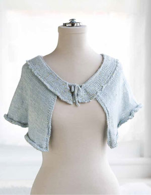 Ruffle Collar Capelet Knitting Pattern