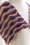 Waves Stole Knitting Pattern