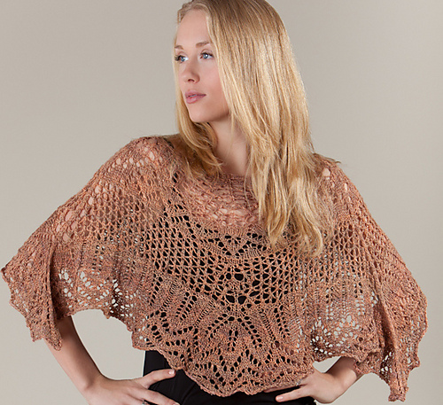 Mayday Shawl and Poncho Knitkits