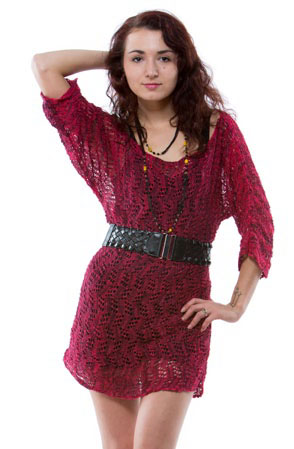 Lace Tunic Pullover Shawlkit