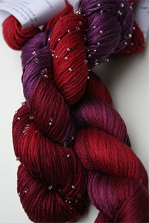 Artyarns Beaded Silk Pearl Knitting Yarn 195S  Hot Cha Cha!