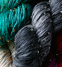 Beaded Silk Pearl Yarn