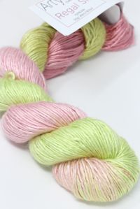 Artyarns regal silk  in color