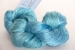 silk yarn: marine blue