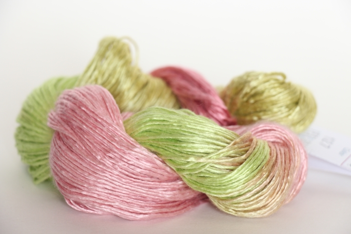 Artyarns Handpainted Silk Yarn in Spring color 127