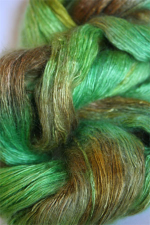 Artyarns Rhapsody Light Yarn in H32 Go Green