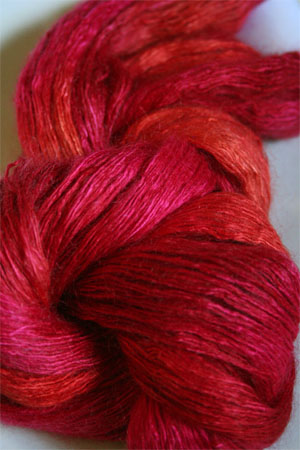 Artyarns Rhapsody Light Yarn in H25 Hot Coral Pinks
