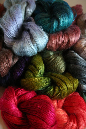Artyarns Rhapsody Light Yarn - Silk, Mohair, in a perfect DK weight blend yarn at Fabulousyarn.com