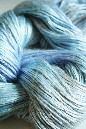 Artyarns Rhapsody Glitter Worsted SIlk Mohair in H16 Winter Bouquet with Silver