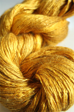Artyarns Rhapsody Glitter Worsted SIlk Mohair in H8 Gold with Gold