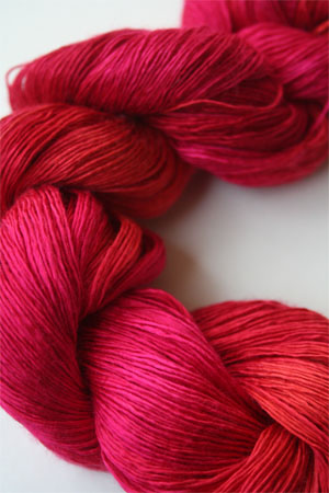 Artyarns Silk Essence in H25 Hot Coral Pink
