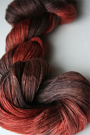 Artyarns Silk Essence in H6 Burnt Orange