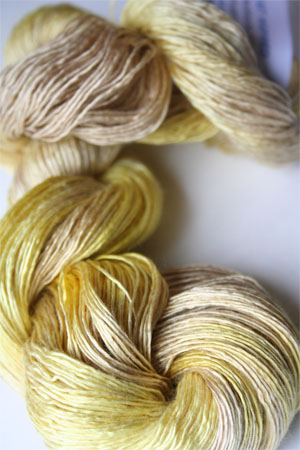 Artyarns Silk Essence in H28 Citronella