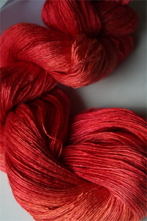 Artyarns Silk Essence in H29 Hot Coral Pink