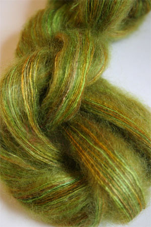 Artyarns Silk Mohair Yarn Color H32 Go Green