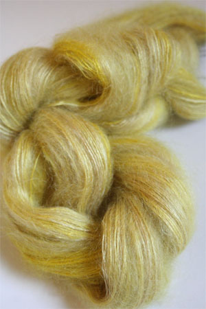Artyarns Silk Mohair Yarn Color H28 Citronella