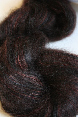Artyarns Silk Mohair Yarn Color H19 Charcoal Browns
