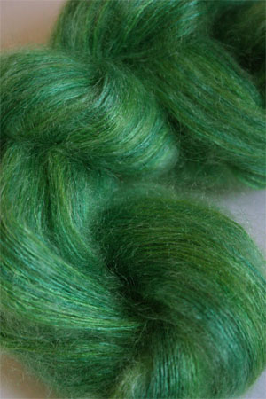 Artyarns Silk Mohair Yarn Color H2 Lime Greens