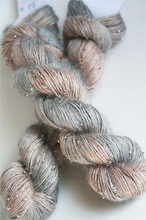 Artyarns Beaded Silk Mohair in H20 Silver
