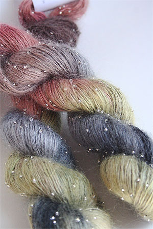 Artyarns Beaded Silk Mohair in H21 Silver