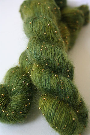 Artyarns Beaded Silk Mohair in H22 Gold