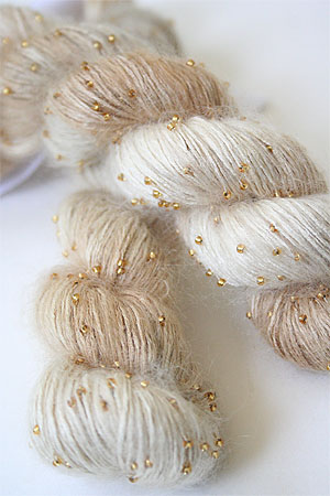 Artyarns Beaded Silk Mohair in H12 Gold