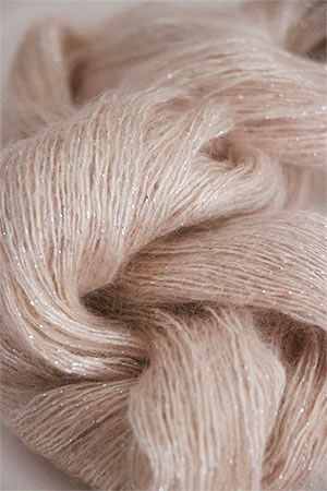 ARTYARNS SILK MOHAIR YARN in 164C: VOGUE BLUSH (Silver)