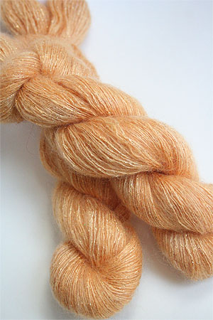 artyarns silk mohair glitter in 202 Gold