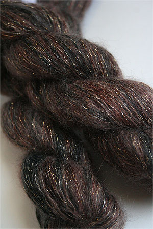 artyarns silk mohair glitter in H19 Gold