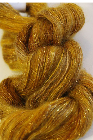 Artyarns Silk Mohair Glitter In H8 Gold With Gold Glitter