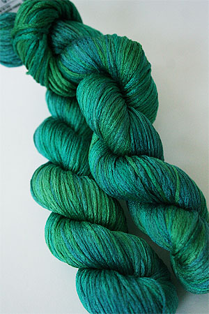 Artyarns Silk Pearl in H13 Emerald City