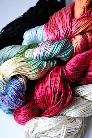 how to add a new color yarn in knitting