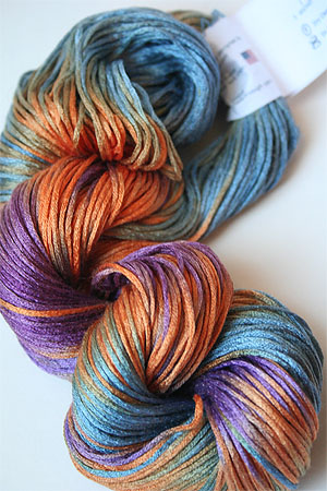 Artyarns Silk Pearl in 174 Hothouse