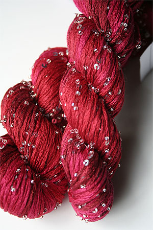 rtyarns silk pearl with beads and sequins in H25s