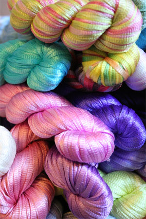 Silk Ribbon Yarn