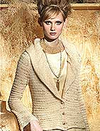 Artyarns SPLASH Jacket from Vogue Knitting Holiday 2010