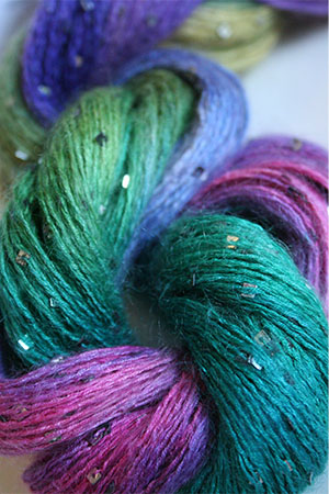 Artyarns Square Sequined Mohair from Artyarns - 502 Parrish