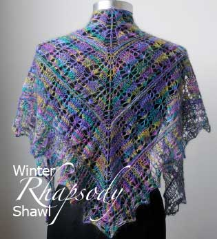 Artyarns Winter Rhapsody Shawl Kit