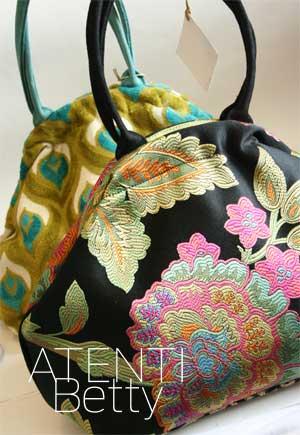 Atenti Designs Betty Knitting Tote