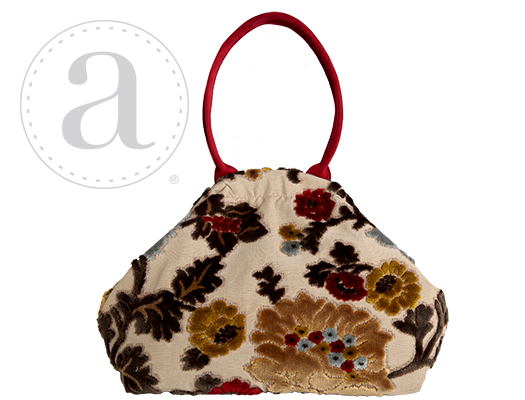 Atenti Designs Betty Knitting Bag in L'Amour