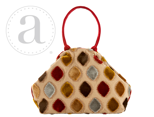 Atenti Designs Betty Knitting Bag in Royale