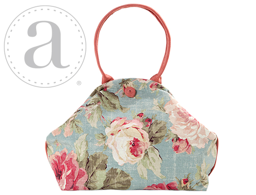Atenti Designs Betty Knitting Bag in Summer Queen