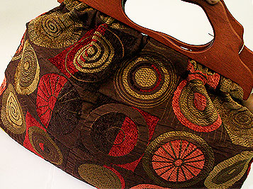 Atenti Ascot Carpet Knitting Tote