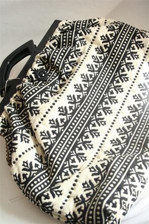 Atenti Haiku Carpet Bag for Knitting