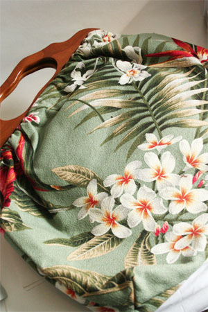 Atenti Bags Carpet Bag Knitting Tote in Japanese Floral