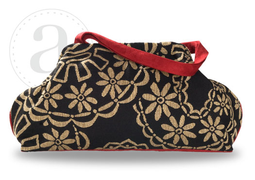 Atenti Doctors Bag in Back Stitch