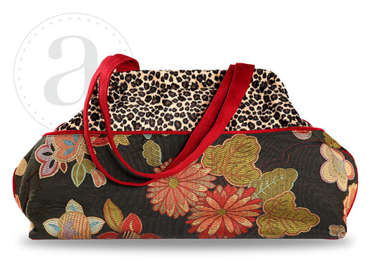 Atenti Doctors Bag in Night Bloom